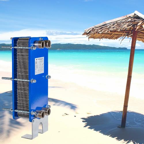 Termoleader in spiaggia