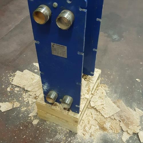 Scambiatore di calore con incrostazione calcarea