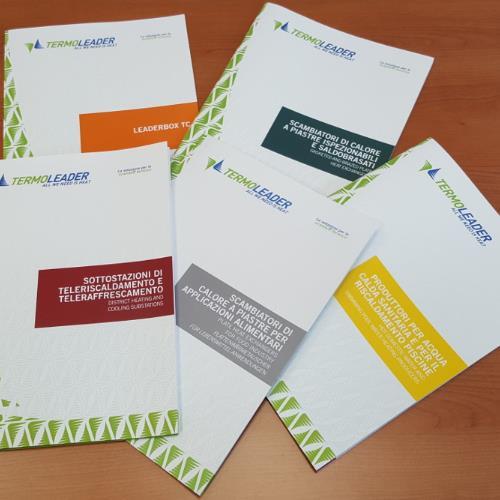 Nuove brochure Termoleader